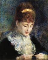 Woman Crocheting (1877) by Pierre-Auguste Renoir