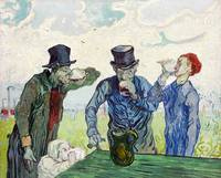 The Drinkers (1890) by Vincent Van Gogh