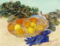 Oranges and Lemons with Blue Gloves by Van Gogh