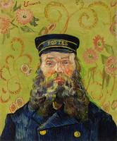 The Postman (1888) by Vincent Van Gogh