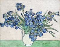 Irises in a Vase by Van Gogh