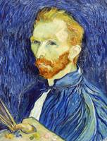 Self-Portrait (1889) by Vincent Van Gogh