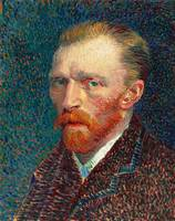 Self-portrait by Van Gogh