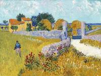 Farmhouse in Provence by Van Gogh