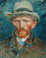 Self-portrait (1887) by Vincent Van Gogh