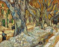 The Large Plane Trees (1889) by Vincent Van Gogh