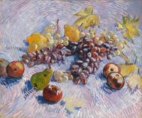 Grapes, Lemons, Pears, Apples (1887) by Van Gogh