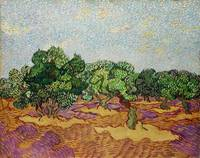 Olive Trees (1889) by Vincent Van Gogh