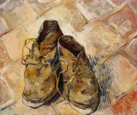 Shoes (1888) by Vincent Van Gogh