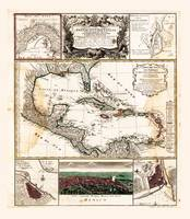 Map of the Caribbean (1781)