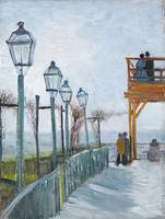 Terrace & Observation Deck by Vincent Van Gogh