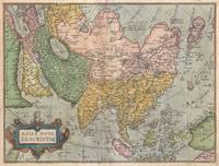 Map of Asia by Abraham Ortelius