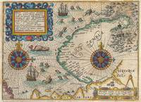 Map of Nova Zembla 1601 De Bry and De Veer