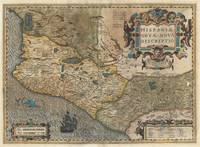 Map of Mexico - Spain 1606 Hondius & Mercator