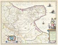 Map of Capitanata (Foggia), Italy 1630 Blaeu