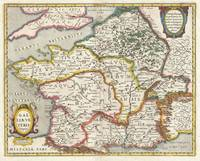 Map of France or Gaul in Antiquity 1657 Jansson