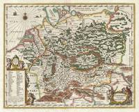 Map of Germany (Germania) 1657 Jansson