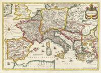 Map of the Empire of Charlemagne 1657 Jansson