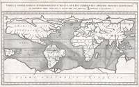 Map of the World Currents, 1665 Kircher