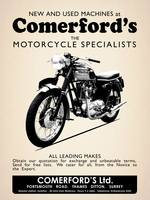 The Comerfords Vintage Advert