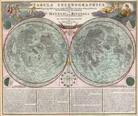 Map of the Moon 1707 Homann and Doppelmayr