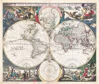 Map of the World 1685 Bormeester