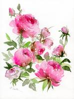 Rose Garden Watercolor
