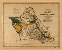 Map of Oahu, Hawaiian Island (1881)