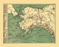 Map of Alaska by J. Millroy (1897)
