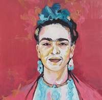 Frida Kahlo red