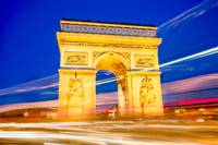 Nightime Arc de Triomphe