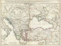 Map of the Eastern Roman Empire 1715 De L'Isle