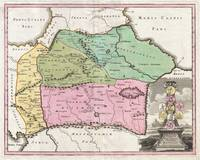 Map of the Caucuses 1720 Weigel