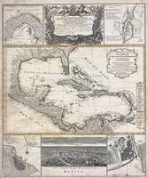 Florida, West Indies 1737 Homann Heirs - D'Anville