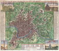 Map of Rome 1721 John Senex