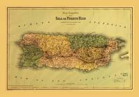 Map of Puerto Rico (1886)