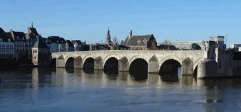 Old Bridge in Maastricht