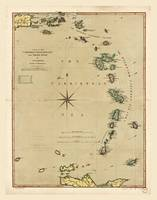 Lesser Antilles Map (1789)