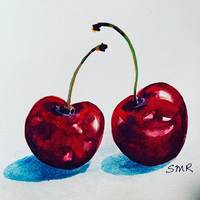 Sweet Cherries by Stephanie Rothwell
