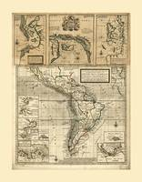Map of South America (1711)