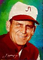 Bear Bryant #6 Wall Art by Edward Vela