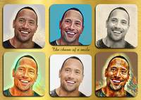 Dwayne Johnson pop star celebrity