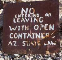 Desert Bar Sign