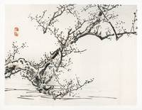 Blossoming Tree by Kono Bairei