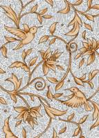 Floral White Chintz