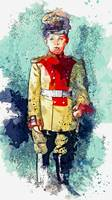 Alexei in Uniform, Russian Imperial family waterco