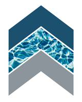 Grey Blue Water Chevron 2