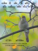 Nightingales in Berlin  poster warmer color text2