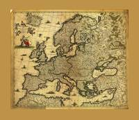 Map of Europe by Frederico de Wit (circa 1700)