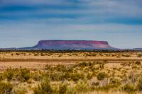 Mount Conner as seen from the road to Uluru